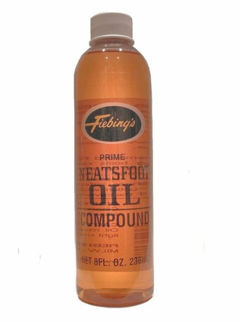 Fiebing's Prime Neatsfoot Natural Oil Compound 8 oz. 236 mL 21997-01