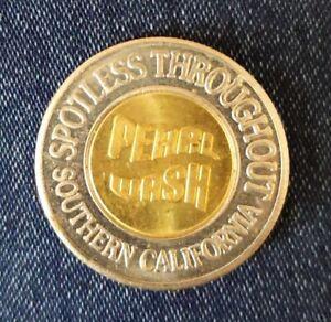 Pearl Wash Car Wash Token - Southern CA Car Wash $1 Coin ...