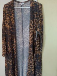 Leopard étiquettes Neuf avec Sarah Medium Htf Lularoe Licorne Cheetah Léger wgqIAE