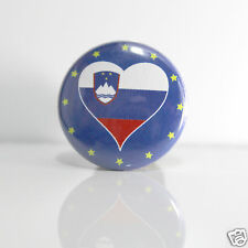 2 Badges Europe [25mm] PIN BACK BUTTON Slovénie
