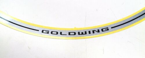 Genuine Honda Silver Vinyl Rim Strips 18-20 GL1800 Gold Wing Decal Strip #J171
