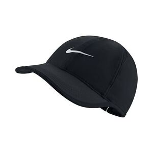 7ed46bc0f5e NEW! Black Nike Women s DRI-FIT Tennis Golf Runners Featherlight Cap ...