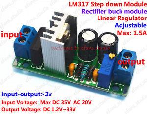 Details about AC/DC to DC Converter Adjustable Voltage Regulator Power  Supply Module 5V 9V 12V