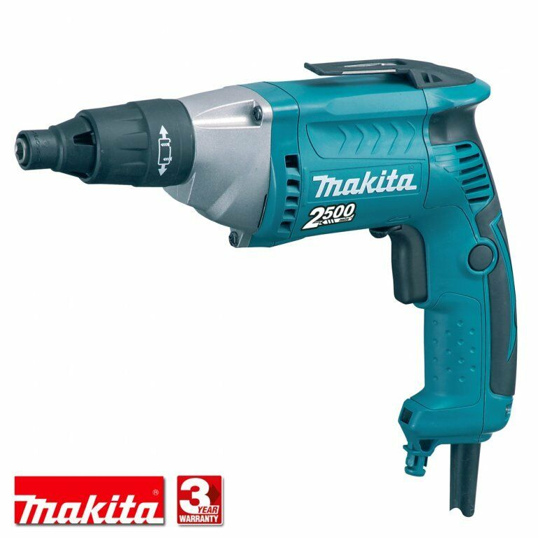 Makita FS2500 240v drywall tek screwdriver drylining gun 3 year warranty