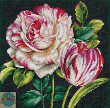 Cross Stitch Kit ~ Dimenisons Tulip Drama Flower Perfection #70-35314