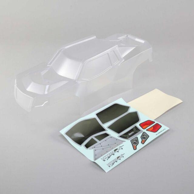 Losi Body Set w/window mask  Clear: LST 3XL-E LOS340000