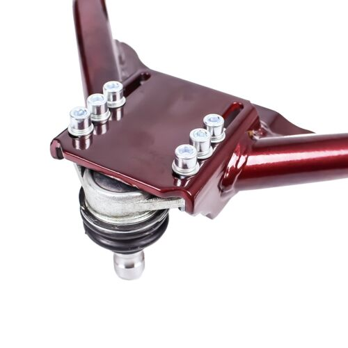 FOR 370Z 09-16 Z34 GODSPEED ADJUSTABLE FRONT REAR UPPER CAMBER ARM ALIGNMENT KIT