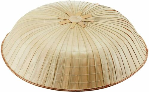 Japanese SANDOGASA Traditional Samurai Travel Hat Bamboo 46cm Cosplay AT0707Y