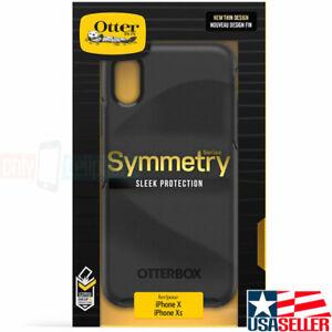 OtterBox-iPhone-XS-X-Symmetry-Series-Case-Black-Hybrid-Cover