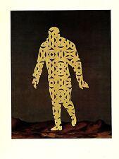 """1974 Vintage MAGRITTE """"THE COMIC SPIRIT, ESPRIT COMIQUE"""" COLOR offset Lithograph"""