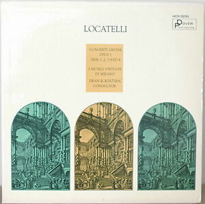 Locatelli concerti grossi nm1964lp i musici virtuosi di for Locatelli milano