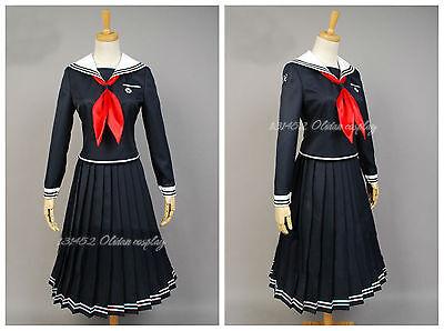 Anime Danganronpa Dangan-Ronpa Toko Fukawa Cosplay Hallween Costume Any Size