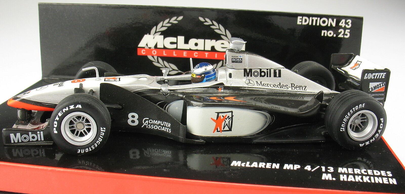 Minichamps-f1 McLaren MERCEDES MP 4-13 - Hakkinen-world champion 1998 - 1 43