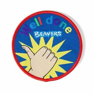 Well-Done-Beavers-Badge-NEW-Round-Scout