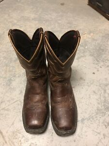 Double H 8 8d Steel Square Toe Work Boots Waterproof Cowboy Western