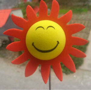 Smiling Sunflower  Antenna Topper Ball NIP