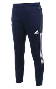 Adidas Men TIRO 21 Track Pants L/S Navy Running Jogger Casual GYM ...