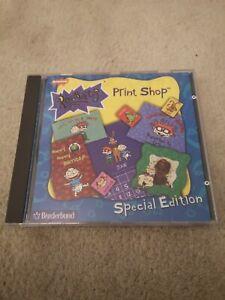 Broderbund Rugrats Print Shop Special Edition CD-ROM RARE 1998