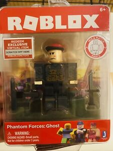 Roblox Phantom Forces Phone New Sealed Roblox Phantom Forces Ghost Action Figure W Code 689994073568 Ebay