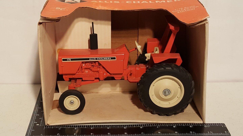 Allis Chalmers 175 w ROPS 1 16 diecast farm tractor replica by SpecCast