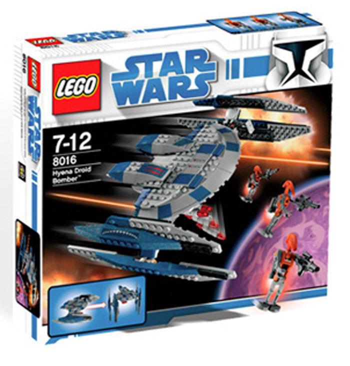 LEGO  estrella guerras Hyena Droid Bomber  8016 nuovo  buona qualità