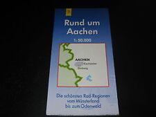Fahrradkarte Tourenkarte Radwanderungen: Rund um Aachen