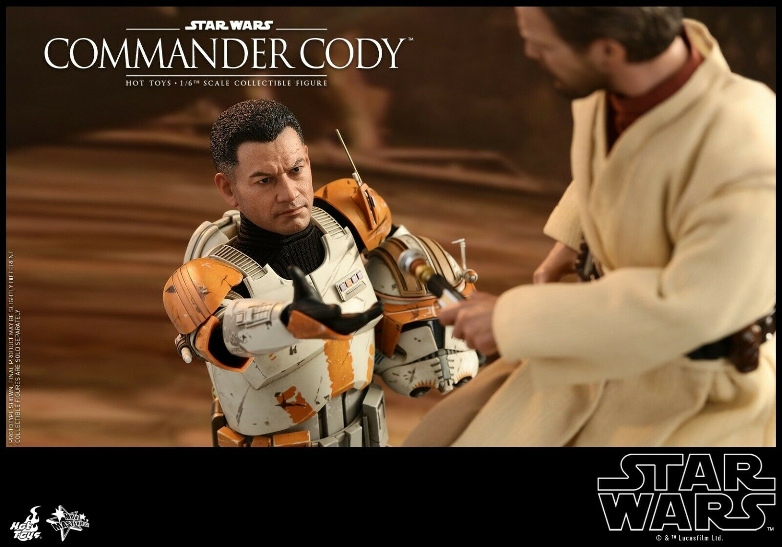 Hot Toys Star Wars Episode III Revenge of of of the Sith 1 6 Commander Cody 12  Figure c2a1a3