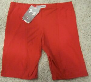 Under-Armour-UA-Womens-Padded-Slider-Shorts-NWT-Red-or-White-Various-Sizes