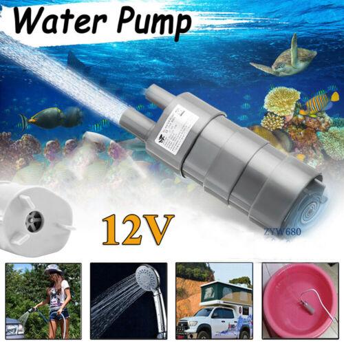 Tauchpumpe DC 12V Pumpe Wasserpumpe Wohnwagen Camping Garten 600//1000//1500L//H