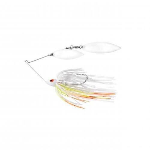 War Eagle Double Willow Painted Head Spinnerbait Wire Bass Fishing Lure