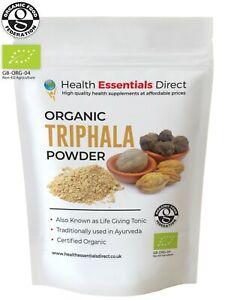 Triphala-organico-en-polvo-Colon-Cleanse-la-salud-de-los-ojos-vida-tonico-Elige-Tamano