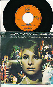 BARBRA-STREISAND-45-TOURS-7-034-HOLLANDE-FUNNY-GIRL