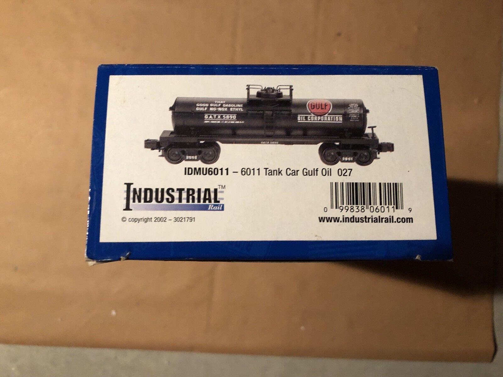 garantizado Tanque De Cocheril industrial IDMU 6011 Gulf oil coche coche coche nuevo en caja 027 Envío Gratuito  barato y de moda