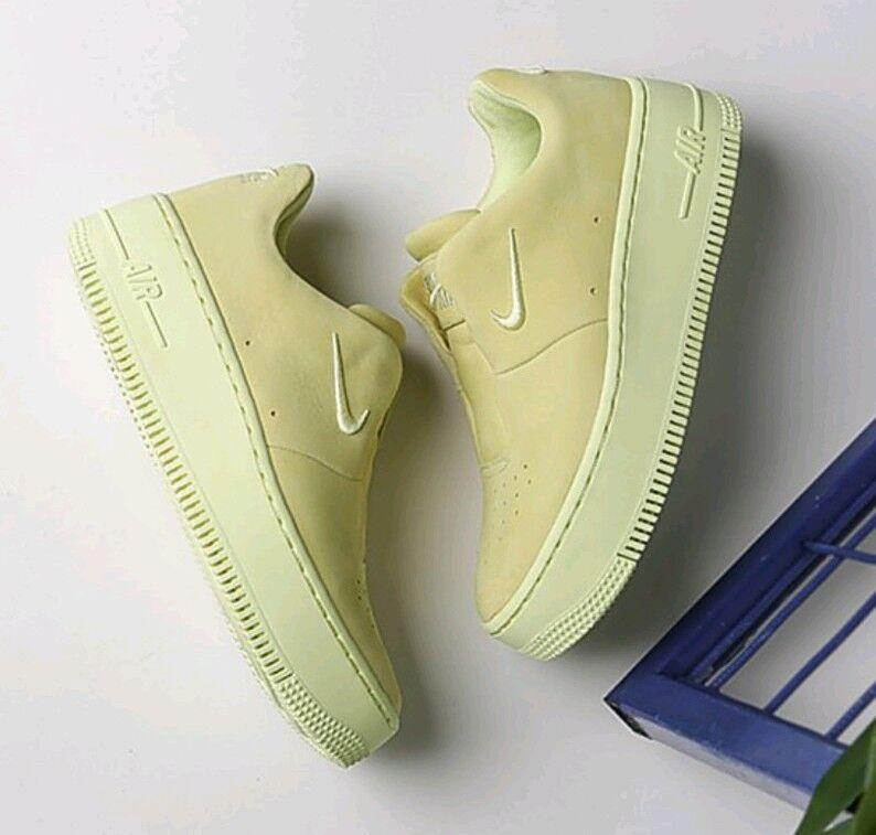 10 WOMEN'S Nike AF1 Sage XX Upstep Luminous Green Lime AO1215 300 casual