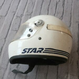 Vintage-Bell-Star-Motorcycle-Full-Face-Helmet-1979-SNELL-79-Size-7-3-8-59-70s