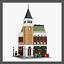 LEGO-Modular-Corner-Pub-amp-Loft-INSTRUCTIONS-ONLY thumbnail 1