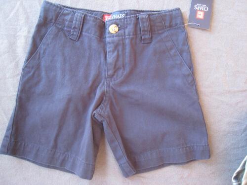 NEW 3T Boy Adjustable Waist Shorts LOT $56 retail Quality Chaps Navy Denim NWT