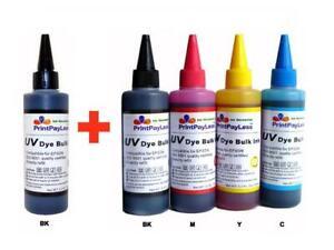 500ml-resistente-ULTRAVIOLETTO-BULK-Colorante-Ricarica-Inchiostro-Per-Epson-WF-2650-WF-2660-WF-2750