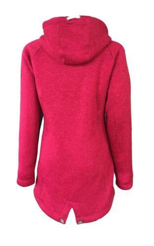 Dry Fashion Damen Wollfleecemantel Oslo Parka Übergangsjacke warm Windjacke