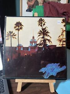 Hotel California by The Eagles (Vinyl Record, 1976, Asylum, 6E-103, Gatefold)