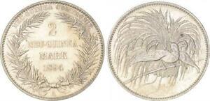 Aleman-Guinea-2-Marco-1894a-de-Pulida-Sello-Vz-St-de-Pp