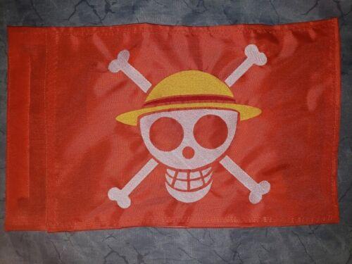 Custom 1 PIECE STRAW HAT PIRATE Safety Flag 4 JEEP ATV UTV  Dune Whip Pole