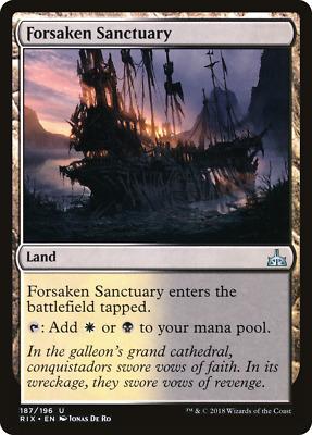 4x Forsaken Sanctuary English Commander 2017 NM-Mint