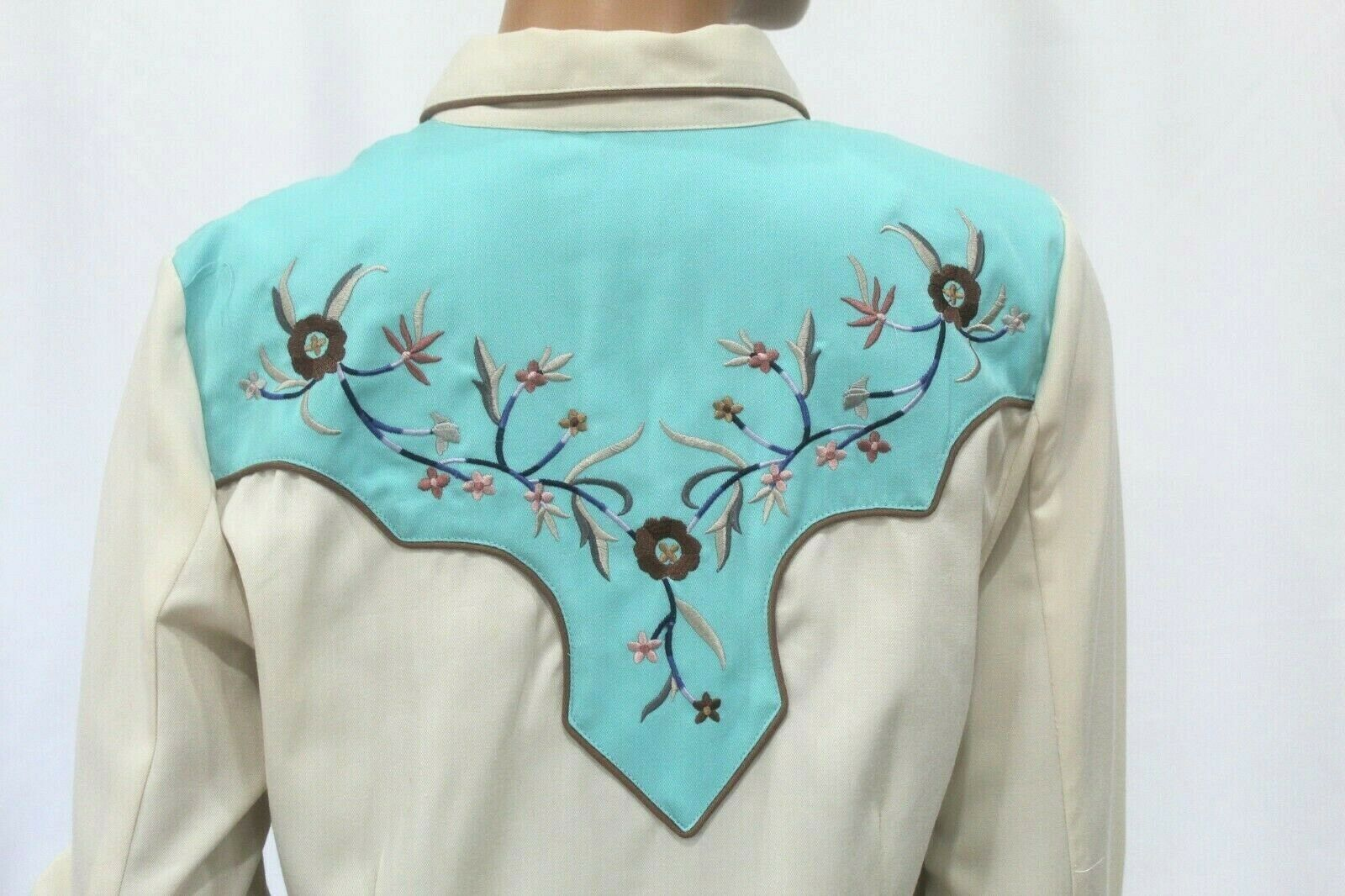 *VINTAGE* Scully~Women's Pearl Snap Western Shirt… - image 5