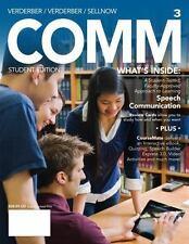 COMM 3 (with CourseMate with Interactive Video Activities, SpeechBuilder(TM) Ex