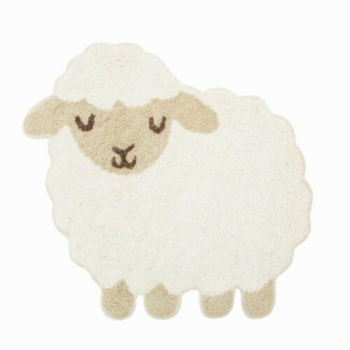 Sass /& Belle Kinderteppich Schaf Schäfchen Kinderzimmer Teppich Bad Matte