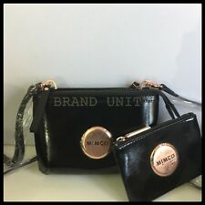 8d1eca804ee3 Mimco Supernatural Couch Crossbody Bag Black Leather With Dustbag ...