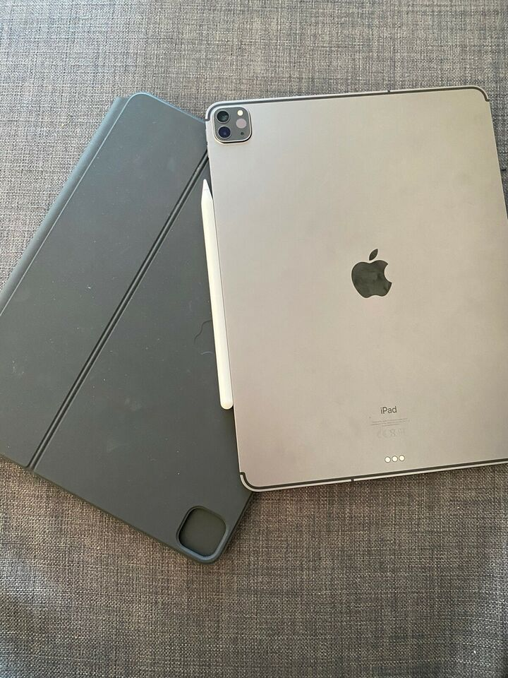 iPad Pro 4, 128 GB, sort