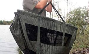 FOX-STR-Floatation-Weigh-Sling-Safety-GREEN-Carp-Fishing-CCC026