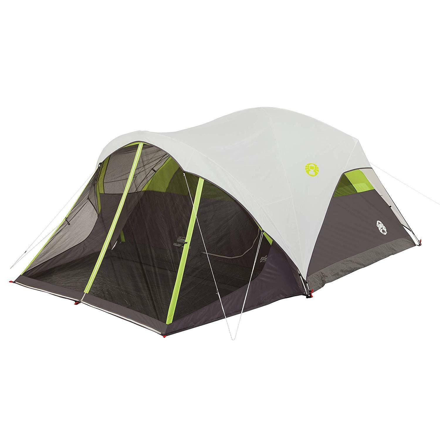 Steel Creek Fast Pitch Dome Tent  with Screen Room, 6-Person 10X9, 5'8  Center  low prices